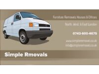 Freindly & Reliable Man and van removals,Rubbish Clearance North London Movers