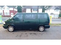 VW T4 Caravelle, 2.5 TDI 102 PS, 7 seater, Left Hand Drive, registered abroad