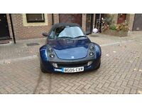 Smart Roadster 0.7 RHD Semi-Automatic gearbox with paddleshift