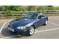 mazda mx 5 1.6 petrol convertable with 55k miles full Mazda FSH for more information please call
