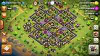 CLASH OF CLANS TH9 almost maxed