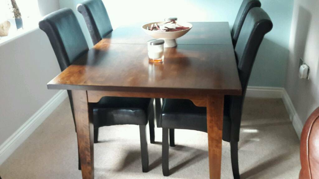 Laura ashley extending table and 4 chairs   in York, North ...