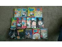 Family Guy Seasons 1-10 plus others