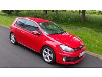 2010 VW VOLKSWAGEN GOLF GTI 2.0 TSI NEW TIMING CHAIN KIT FITTED FULL SERVICE HISTORY LEATHER DAB