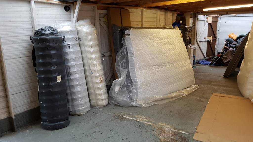 New king size mattress clearance by ex catalogue