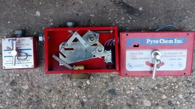 Pyro Chemical Control Head With Electric Contact And Manual Pull Station