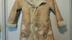 John Rocha warm Coat faux fur from inside Age 7 - 8 years