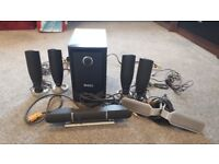 Dell Home Theatre 5.1 Speaker System with sub woofer