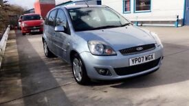 2007 Ford Fiesta GHIA 12 month mot 56k one owner