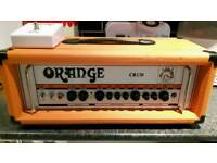Orange Crush CR120 guitar head and footswitch