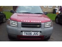 Spares or repairs land rover 2lt