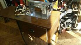 Sewing Machine and Table - Frister & Rossmann