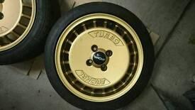"Ronal Turbo 4x100 15"" suit MX5, Honda, BMW"