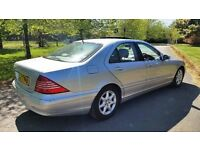 Mercedes Benz S320 NEW MOT STUNNING EXAMPLE WITH MASSIVE SPEC