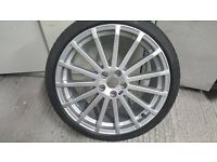 Genuine Ford Focus RS Mk2 Alloy Wheel & Tyre