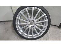 Genuine Ford Focus RS Mk2 Alloy Wheel & Tyre