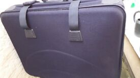 Large Suitcase in Navy