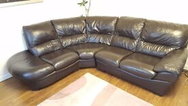Corner sofa and Recliner chair