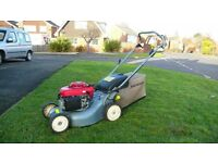 Lawn Mower, Honda Self Propelled