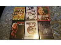 Dvds £1.50 each. Blu ray