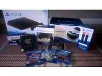 PS4 & VR COMPLETE PACKAGE