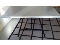 8 seater zinc top dining table