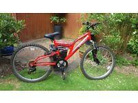 Boys mountain bike Trax TFS24