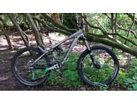 2010 trek scratch8 air size small swap for med/large full sus mtb