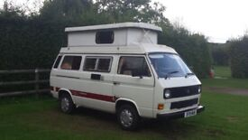 VW T3 camper van - ready to go