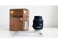 Nikon Nikkor AF-S DX 18-55mm F/3.5-5.6 VR G Lens