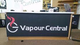 Retail Shop Counter Desk Unit