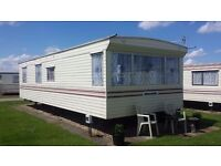 Caravan to rent chapel st Leonards 6 berth