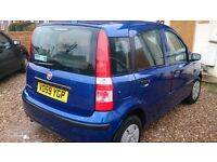 Fiat panda eco car 2009,50k miles, 8 months mot,2 lady owners, £30 to tax for year