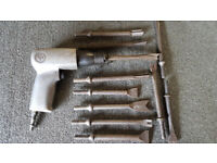 Air Hammer CP711 with Cutting Tools