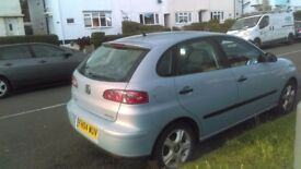 Seat ibiza low miles sale or swap