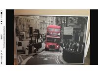 London bus picture frame