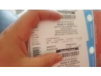 guns n roses seated tickets