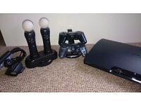 PS 3 + move + 23games + cabel HDMI