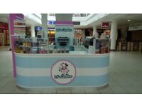 Mix shakes and ice cream pod and equipment ideal for the first time business