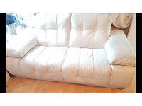 4 seater & large 2 seater - Italian leather made by Incanto orginal cost £7000