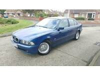 2001 BMW 525 AUTO Blue Saloon