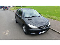 *BARGAIN* Peugeot 206 1.4 petrol, 40 480 miles only