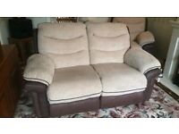 3 seater sofa and armchair from DFS