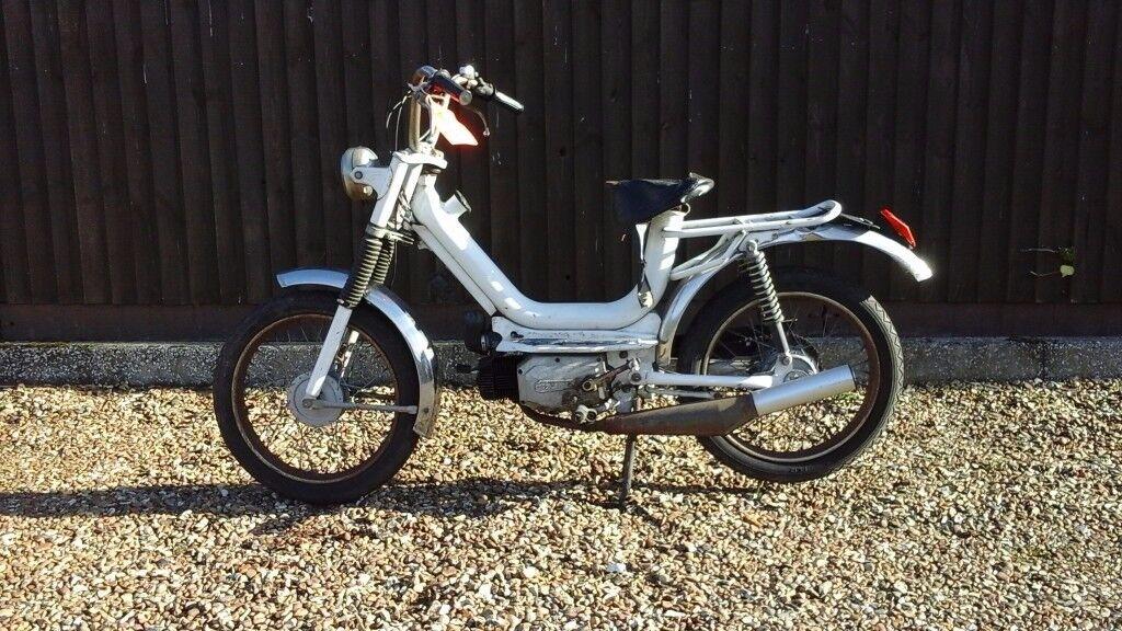 Moto rizzato moped Project