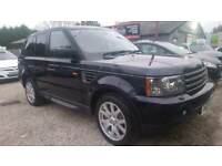 2007 RANGE ROVER SPORT TDV6 FULLY LOADED PX SWAP WELCOME