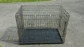 42 inch XL heavy duty dog cage crate