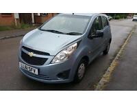 Chevrolet Spark 1.0 petrol long mot £30 road tax per year very economical car