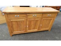 Extra Large Solid Oak Sideboard,Excellent Condition,Possible Delivery