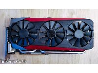 🌟 ASUS STRIX GTX 980 Ti Gaming NVIDIA GeForce Graphics Card 6GB GDDR5 GPU 🌟
