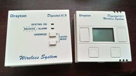 Drayton Digistat RF1 thermostat wireless system. complete